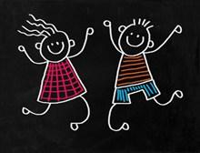 六一儿童节美术图画高清图片
