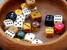 游戏骰子素材精美图片