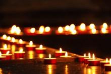 蜡烛烛光火焰图片大全