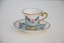 漂亮复古茶杯图片素材