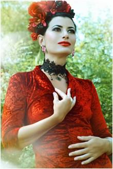 艺术彩妆美女写真高清图