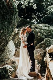 婚纱照森系风格图片下载