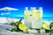 柠檬苏打水精美图片