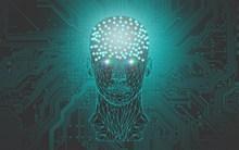 人工智能科技背景图片