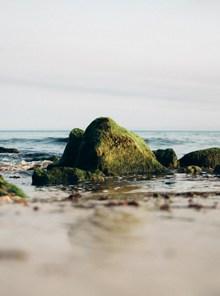 海岸岩石高清图片