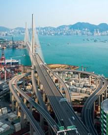 海港城市立交桥高清图