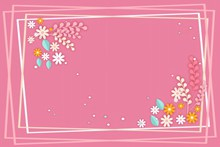 扁平化粉色背景图片