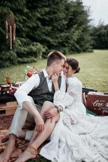 浪漫小清新婚纱照高清图