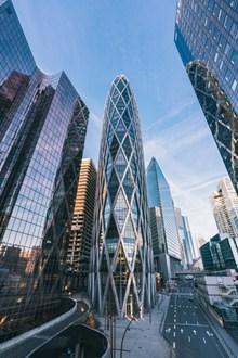 现代都市高楼大厦高清图片