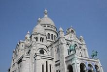 巴黎圣心大教堂建筑图片下载