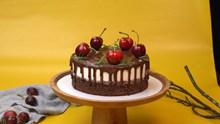 巧克力樱桃蛋糕图片下载