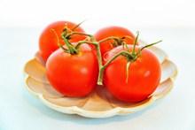 鲜红西红柿图片素材