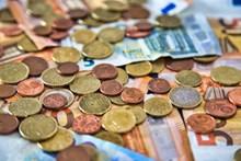 欧元钱币硬币图片下载
