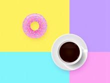 甜点咖啡背景素材图片