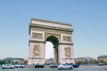 巴黎凯旋门广场图片下载
