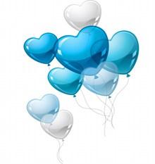 情人节爱心气球精美图片