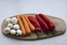 红萝卜辣椒蔬菜精美图片