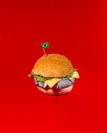 巴西汉堡高清图片