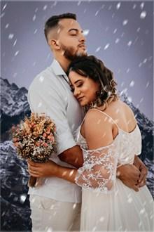 唯美浪漫婚纱情侣图片