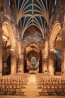 欧洲教堂内部结构图片下载