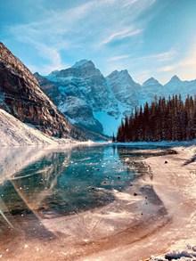 冬季唯美山水风景高清图