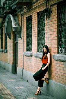 亚洲中国街拍美女图片大全