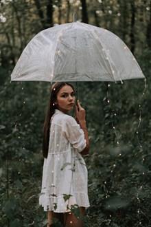 撑伞美女人像摄影艺术精美图片