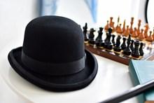 黑色帽子图片大全