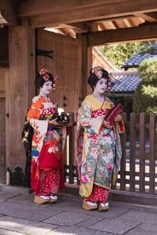 日本传统和服美女图片下载