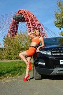 极品车模美女人体写真高清图片