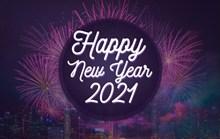 2021年新年快乐英文图片下载