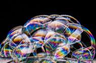 七彩泡泡图片