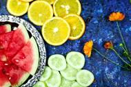 多种切片水果背景图片