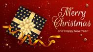 圣诞快乐背景设计素材高清图片