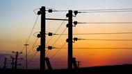 高压电源线条图片