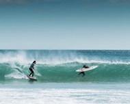 大海极限冲浪运动图片