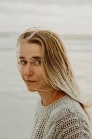海边欧美美女摄影精美图片