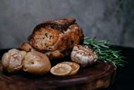 烤肉烤土豆图片
