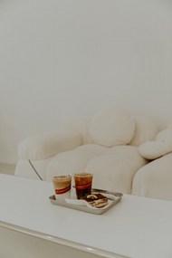 奶茶和蛋糕图片大全