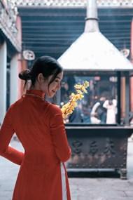 温婉越南女生高清图片