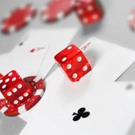 紅色骰子圖片素材