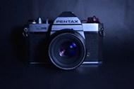 黑色复古写真相机精美图片
