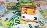 欧元现金钞票高清图片