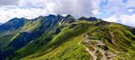 山峰山顶风景精美图片