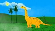 卡通恐龙插画背景图片大全