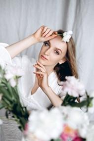 欧美白色衣服美女精美图片