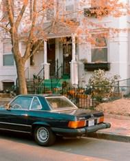 别墅奔驰轿车图片下载