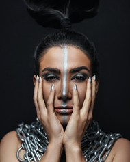 欧美捆绑美女艺术摄影高清图片