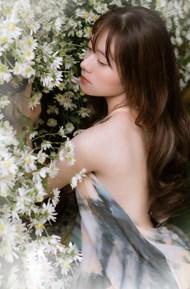 亚洲艺术美女人体模特精美图片