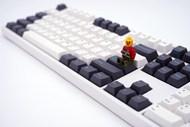 黑白色键盘图片